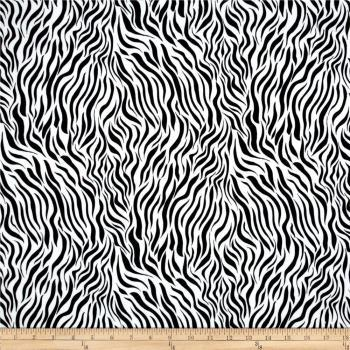 Baby Zebra Print Flannel Fitted Crib Sheet Various Colors